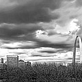 St. Louis Gateway Arch by Cindy Tiefenbrunn