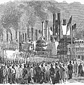 St. Louis: Steamboats, 1857 by Granger