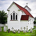 St. Luke's Church And Cemetery In Placentia by Elena Elisseeva