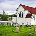 St. Luke's Church In Placentia Newfoundland by Elena Elisseeva