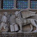 St. Marco And The Lion by Bill Cannon