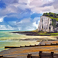 St. Margaret's Bay At Dover by Dominic Piperata