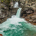 St. Mary Falls In Spring by Greg Nyquist