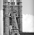 St Marys Cathedral In Austin Tx by Sarah Broadmeadow-Thomas