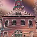 St. Mary's Episcopal Church In Pastel by Trish Tritz
