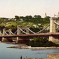 St Nicholas Bridge In Kiev - Ukraine - Ca 1900 by International  Images