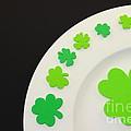 St. Patrick's Day Plate by Henrik Lehnerer
