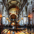 St Paul Cathedral Interior by Svetlana Sewell
