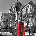 St Pauls Telephone Box by Andy Linden