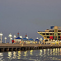 St. Petersburg Pier by Lawrence Li