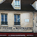 St Pierre De Montmartre Paris Scene by Greg Matchick