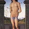 St Sebastian by Pietro Perugino