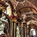 St Stanislaus Church - Posnan Poland by Jon Berghoff