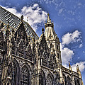 St Stephens Cathedral - Vienna by Jon Berghoff