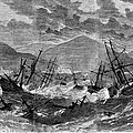 St. Thomas: Hurricane, 1867 by Granger