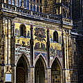 St Vitus Cathedral Entrance by Jon Berghoff
