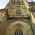St Vitus Cathedral Prague - The Realms Of 'non-being' by Christine Till