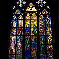 St Vitus Cathedral Stained Glass by Jon Berghoff
