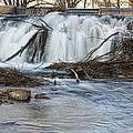 St Vrain River Waterfall Slow Flow by James BO Insogna