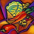 Staff For Yummy Salad by Leon Zernitsky