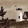 Stage Harbor Lighthouse by Skip Willits