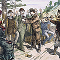 Stagecoach Robbery, 1880s by Granger
