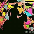 Stain Glass Cowboy by David Carter