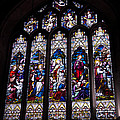 Stained Glass - Bath Abbey by Jon Berghoff