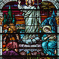 Stained Glass Jesus by Anthony Citro