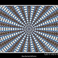 Stained Glass Kaleidoscope 32 by Rose Santuci-Sofranko