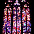 Stained Glass Window II by Mariola Bitner