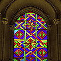 Stained Glass Window In Mezquita by Artur Bogacki