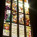Stained Glass Window by Michal Boubin
