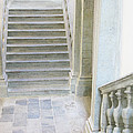 Stairway In Radovlica by Greg Matchick