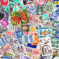 Stamp Collection . 2 To 1 Proportion by Wingsdomain Art and Photography