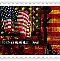 Stamp Your Freedom  by Fania Simon