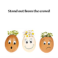 Stand Out From The Crowd by Jane Rix