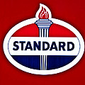 Standard Oil Sign by Bill Cannon