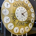 Standard Time Zone Clock. by Mark Williamson