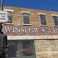 Standin On The Corner In Winslow Arizona by Bob Christopher