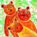 Stargazing Teddy Bears by Barbara Moignard