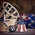 Stars And Stripes Still Life by Tom Mc Nemar