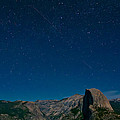 Stars Over Half Dome by Adam Pender
