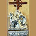 Station Of The Cross 03 by Thomas Woolworth