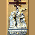Station Of The Cross 04 by Thomas Woolworth