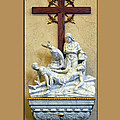 Station Of The Cross 11 by Thomas Woolworth
