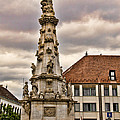 Statue At St Matthias Church by Jon Berghoff