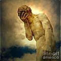 Statue Of Human Covering Face by Bernard Jaubert