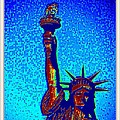 Statue Of Liberty-4 by Anand Swaroop Manchiraju