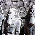 Statues Of Ramses II by Granger